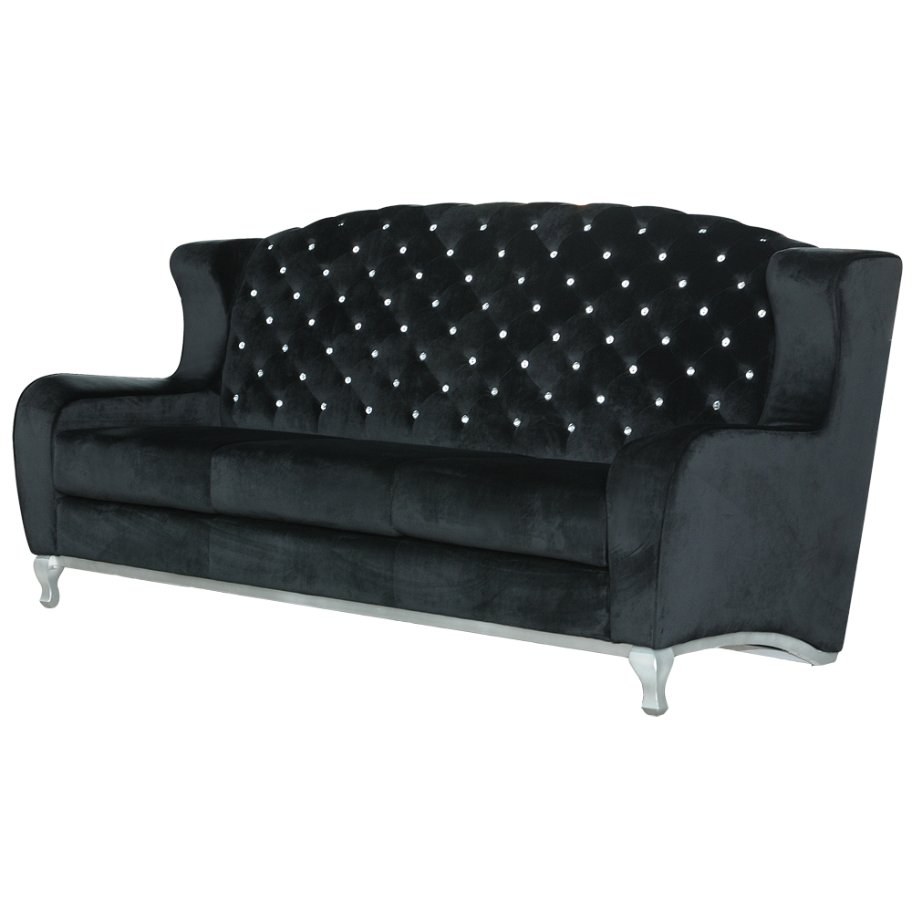3 Seater Chesterfield Sofa Homee